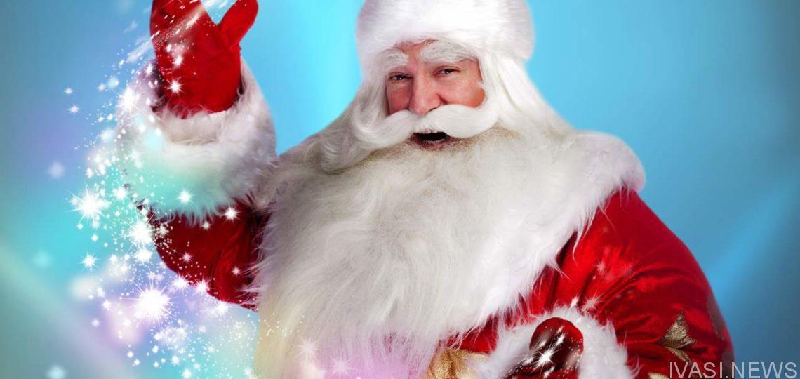 Зажигательный Дед Мороз станцевал брейк- данс на детском утреннике (видео)