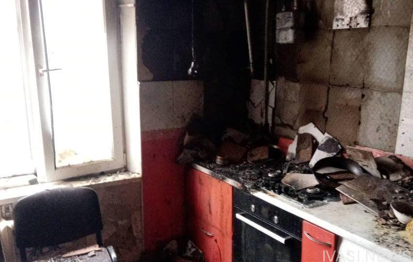 пожар ул. Семена Палия
