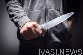 мужик с ножом
