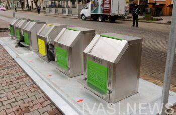 умные контейнеры для мусора
