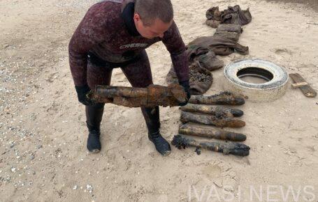 Одесские спасатели нашли снаряды на дне моря