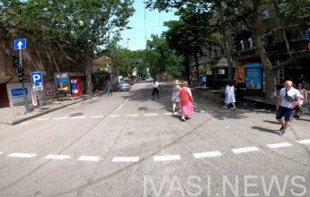 пешеходная зона в Одессе