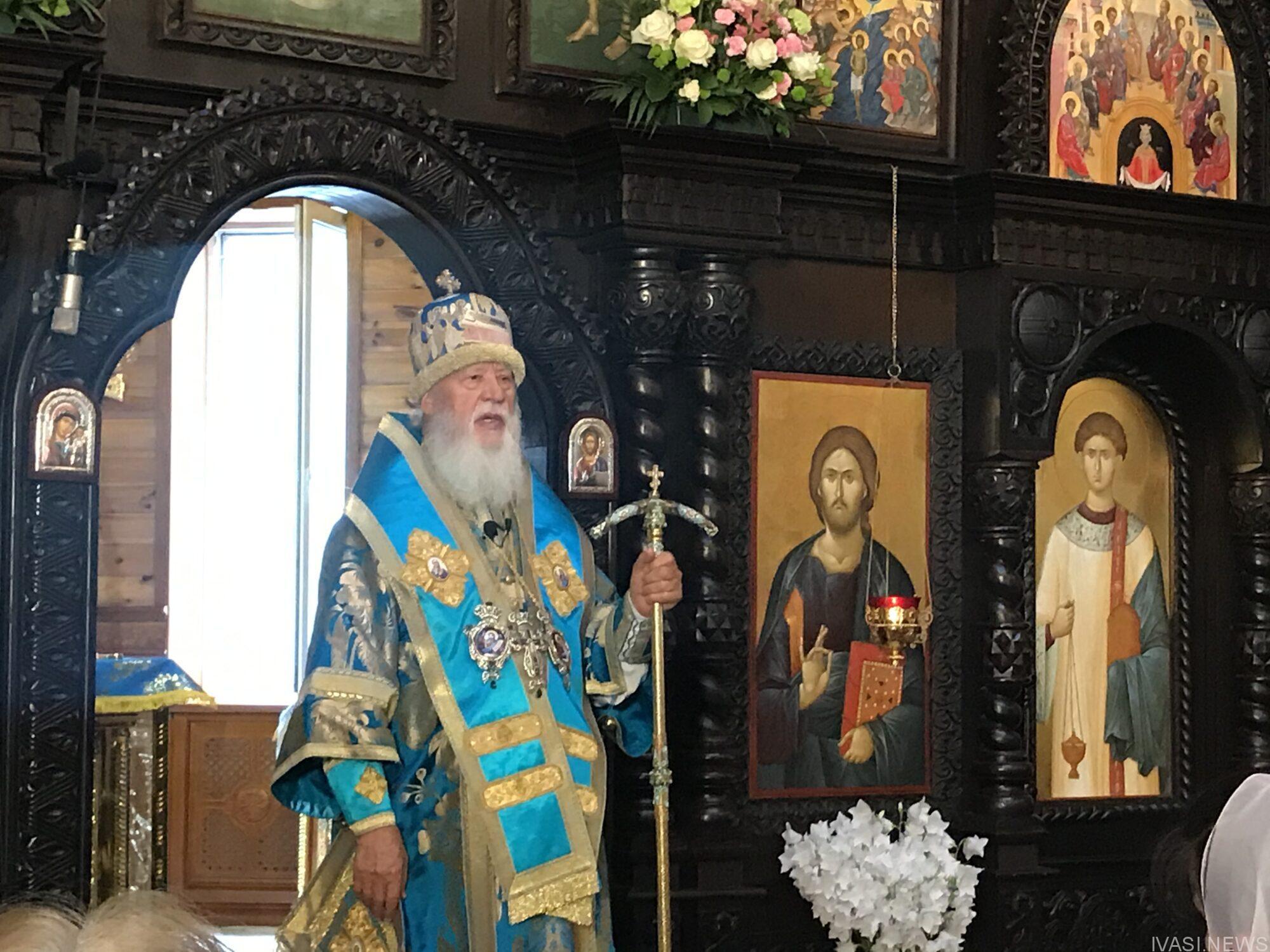 Митрополит Одесский и Измаильский Агафангел рассказывает историю иконы Споручница грешных Одесса