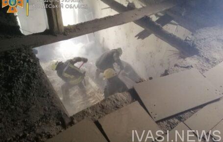 В Одессе в двухэтажном доме обрушилось перекрытие