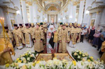 В день памяти Одесских святых митрополит Агафангел совершил Божественную литургию
