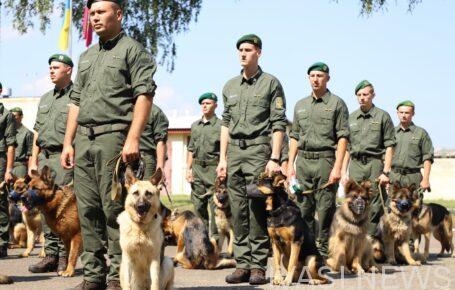 Собаки Измаильского пограничного отряда примут участие в параде на Крещатике