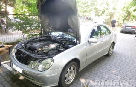 В Черноморскую обнаружили разыскиваемый Интерполом автомобиль