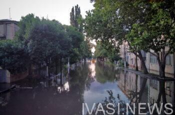 удар стихии в Одессе
