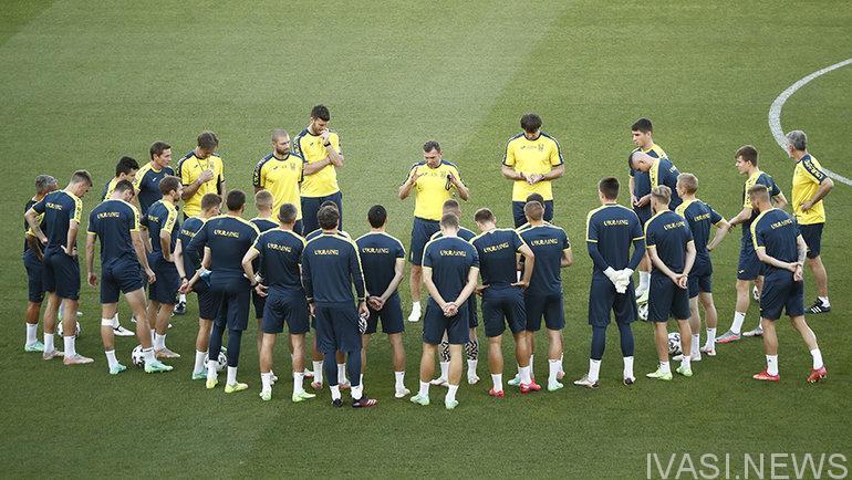 матч Украина-Англия