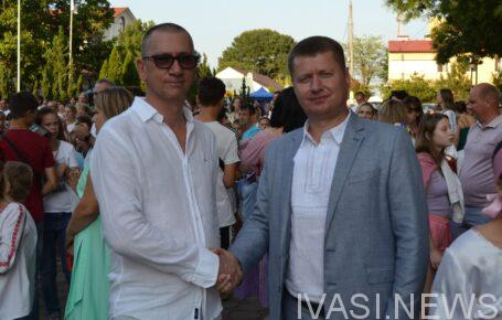 Александр Малин и Сергей Хрустовский