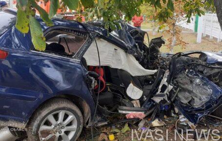 Под Одессой автомобиль влетел в дерево: погиб водитель