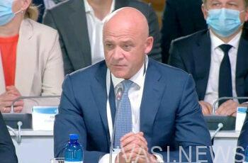 Мэр Одессы ушел в отпуск до среды