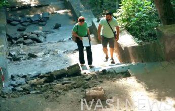 Ровно 547: в Одессе пересчитали ступени курсантской лестницы